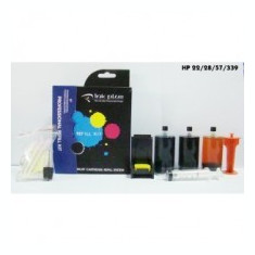 KIT pentru REFILL cartuse HP 22, 28, 57 - Kit refill imprimanta