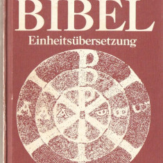 DIE BIBEL EINHEITSUBERSETZUNG { traducere interconfesionala protestanti catolici limba germana }, Alta editura