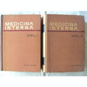 MEDICINA INTERNA - Manual pentru invatamantul medical superior, Vol I + II, Ed. III, sub redactia Acad. A. Moga si Prof. P. Teodorescu, 1964. Noi