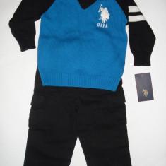 Set US Polo Assn  Original - baieti 2 ani