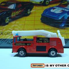 MATCHBOX--SNORKEL FIRE ++ 2000 DE LICITATII !! - Macheta auto