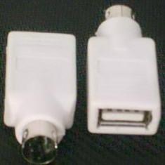 Adaptor PS2 la USB pentru mouse sau tastatura