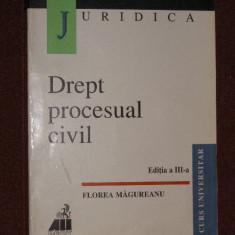 Drept procesual civil- Florea Magureanu , editia a III a.