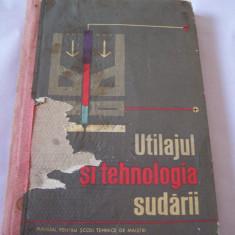UTILAJUL SI TEHNOLOGIA SUDARII .