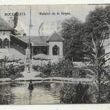 BUCURESTI : BUFETUL DE LA SOSEA - circulata 1916,timbre