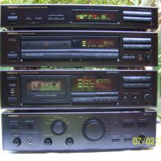 LINIE AUDIO / SISTEM AUDIO ONKYO / CD + TUNER + CASS !!! FARA AMPLIFICATOR !!! - Combina audio