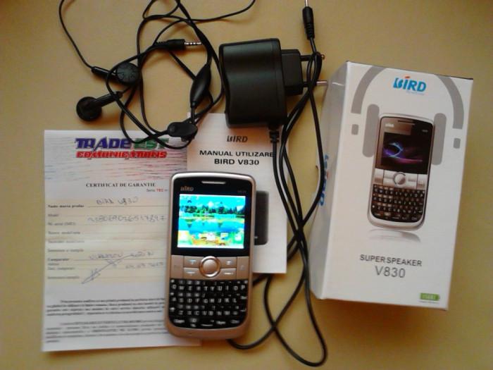 telefon BIRD V830 dual sim foto mare