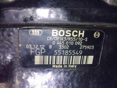 Pompa injectie Bosch pentru motor Z13DT Opel,Fiat,Suzuki foto
