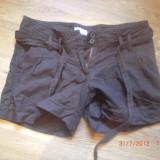 Pantaloni scurti, mar 32 - Pantaloni dama, Culoare: Maro, Maro, Bumbac