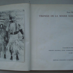 VIKINGII  DE  LA  SOARE  RASARE - Peter  H. Buck