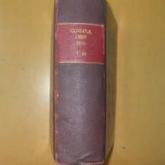 Cuvantul Liber 1925 An II Nr. 1-42 Desene Marcel Iancu - Revista culturale