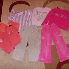 Set hainute fetite, Culoare: Roz