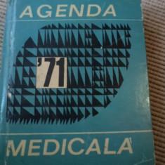 Agenda medicala 1971 farmacologie carte medicina - Carte Farmacologie