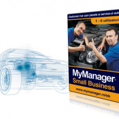 Program gestiune piese auto si service MyManager Small Business - Solutii business, Windows XP, Download, Altul, Numar licente: 1