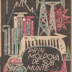 (C2211) PRIN MOLDOVA DE SUB MUNTE, DE CONSTANTIN TANASA, EDITURA UNIUNII DE CULTURA FIZICA SI SPORT, BUCURESTI, 1965