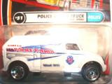 MATCHBOX-POLICE ROBOT TRUCK .++2100 DE LICITATII !!, 1:76