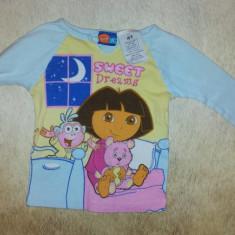 SH: Bluza bebe de la Nick Jr cu Dora, masura 4 T, ca noua, bumbac, Culoare: Multicolor, Fete