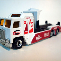 MATCHBOX-KENWORTH CAR TRANSPORTER .++2100 DE LICITATII !! - Macheta auto Matchbox, 1:87