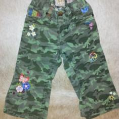 SH: Pantaloni deosebiti camuflaj de la EST 1989 Place, fete 18 luni, ca noi, Culoare: Khaki