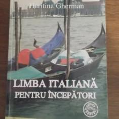 Limba italiana pentru incepatori