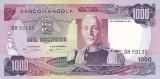 Bancnota Angola 1.000 Escudos 1972 - P103 UNC (valoare catalog $37,50)
