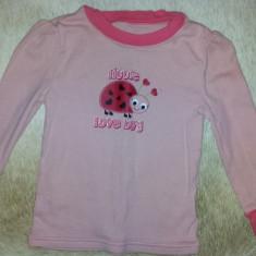 SH: Bluza de dormit pentru fete 24 luni de la Sleep Wear, bumbac, ca noua, Culoare: Cappuccino