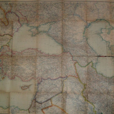 Harta Justus Perthes Gotha-Esteuropa und vorder-asien, Europa de est si orientul apropiat