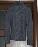 Pulover Victoria's Secret (M) - gri/ argintiu - pret redus, Acril, Victoria S Secret