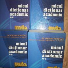 Micul dictionar academic(4 volume) - DEX