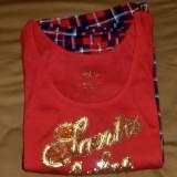 Pijama de bumbac Victoria's Secret (L) - Santa baby