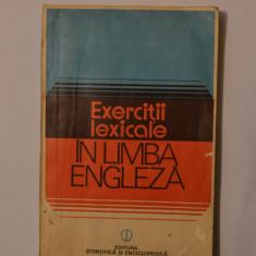 Exercitii lexicale in limba engleza didactica si pedagogica