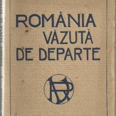 N.Batzaria / ROMANIA VAZUTA DE DEPARTE - editia I, anii 1920 - Carte Editie princeps