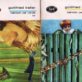 HEINRICH CEL VERDE de GOTTFRIED KELLER 3 VOLUME - Roman, Anul publicarii: 1970