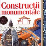 Constructii monumentale, carte ilustrata de la Financiarul, 56 pagini color - Carte educativa