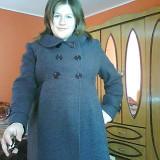 palton gravida marime 48
