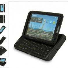 HUSA ANTIRADIATII NOKIA E7 neagra SKIN negru black - Husa Telefon Nokia, Gel TPU, Carcasa
