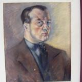 Reducere Autoportret semnat N Brana - Pictor roman, Portrete