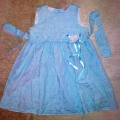 Rochie bleu deosebita de la Emma Kate, fete 4 ani, ca noua