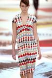 Rochie midi CACHAREL multicolora din matase noua cu eticheta S/ 36/ us2 pret retail peste 300euro, Multicolor, Scurta, Zara
