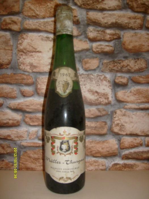 vin de colectie muller thurgau 1967