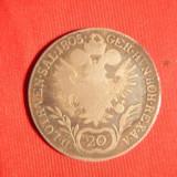 Moneda 20 Kr. 1805 litera B Austria, Francisc II, argint, cal.Buna