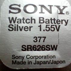 baterie ceas Sony, cu argint-AG4-LR626-G4-LR66-177-377-SR626SW.