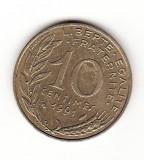 Franta 10 centime 1991, Europa