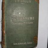 Dictionanaire roumain -francais/ roman -francez-L.E. Sinigaglia{1898}