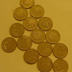 25 bani 1960-1966 metalica - 2+1 gratis toate licitatiile - RBK 1308 - Moneda Romania