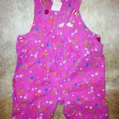 Salopeta fete 3-6 luni de la Oshkosh Baby, ca noua, Culoare: Roz