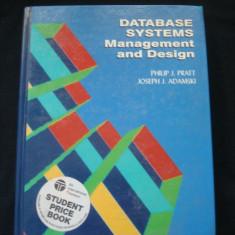 PHILIP J. PRATT, JOSEPH J. ADAMSKI - DATABASE SYSTEMS: MANAGEMENT AND DESIGN