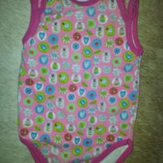 Body bebe de la Hema, lungime aprox 32 cm, bumbac, ca nou, Culoare: Roz