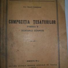 Traian MUresianu -Compozitia Tesaturilor, tesaturi compuse, 1943