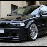 Vand difuzor prelungire bara fata BMW E46 Mpakiet pentru pachet M bara M3 ver 2 - Prelungire bara fata tuning, 3 (E46) - [1998 - 2005]
